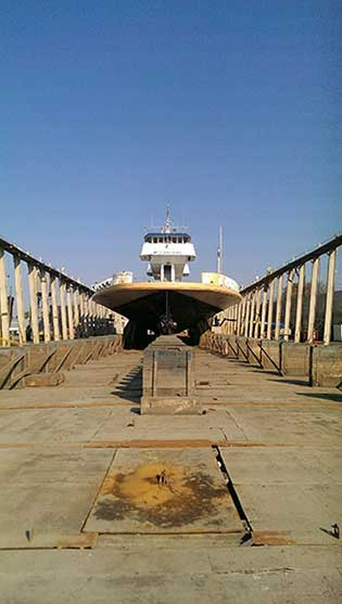 Dry Docks and Railways